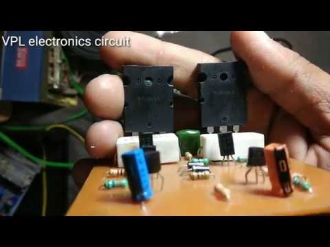 100 Watt Audio Board Home Made