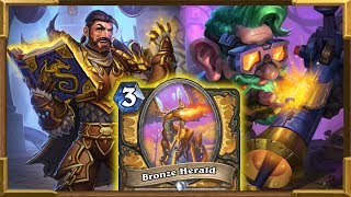 Hearthstone: 4 Mana 11/11 | My New 80% Winrate Dragon Paladin Part 1 | Rise Of Shadows
