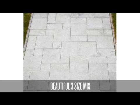 Silver Granite Patio Pack A (HG603MCBHPAVPPA-2CM)