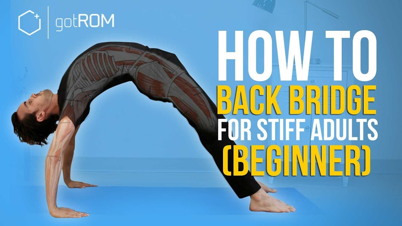 BACK BENDING STRETCHES FOR STIFF ADULTS (BEGINNERS)