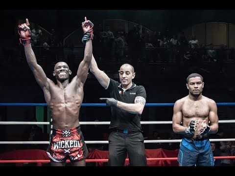 100%FIGHT 35  | Kevin Petshi, nouveau Champion Bantamweight