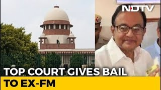P Chidambaram Gets Bail in INX Media Case, Will Leave Jail Today