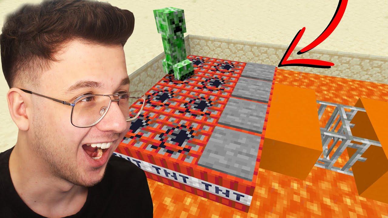 minecraft'ta creeperların IQ'sunu test ettim!