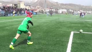 Kadın futbol maçında gerginlik