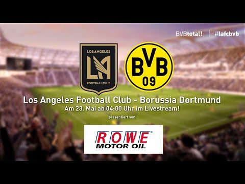ReLive: Los Angeles Football Club - Borussia Dortmund  1:1 (Testspiel)