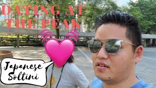 Dating with Japanese Soltini || Hong Kong, The Peak ||