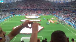 Начало матча Аргентина-Хорватия 21 июня 2018 ЧМ2018