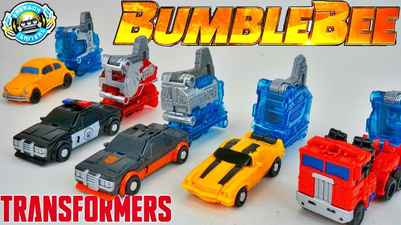 Energon Igniters Speed Series Barricade Transformers Bumblebee