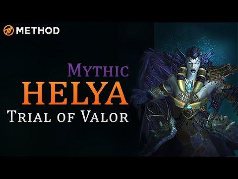 Method Vs Helya - Trial Of Valor Mythic World First Kill