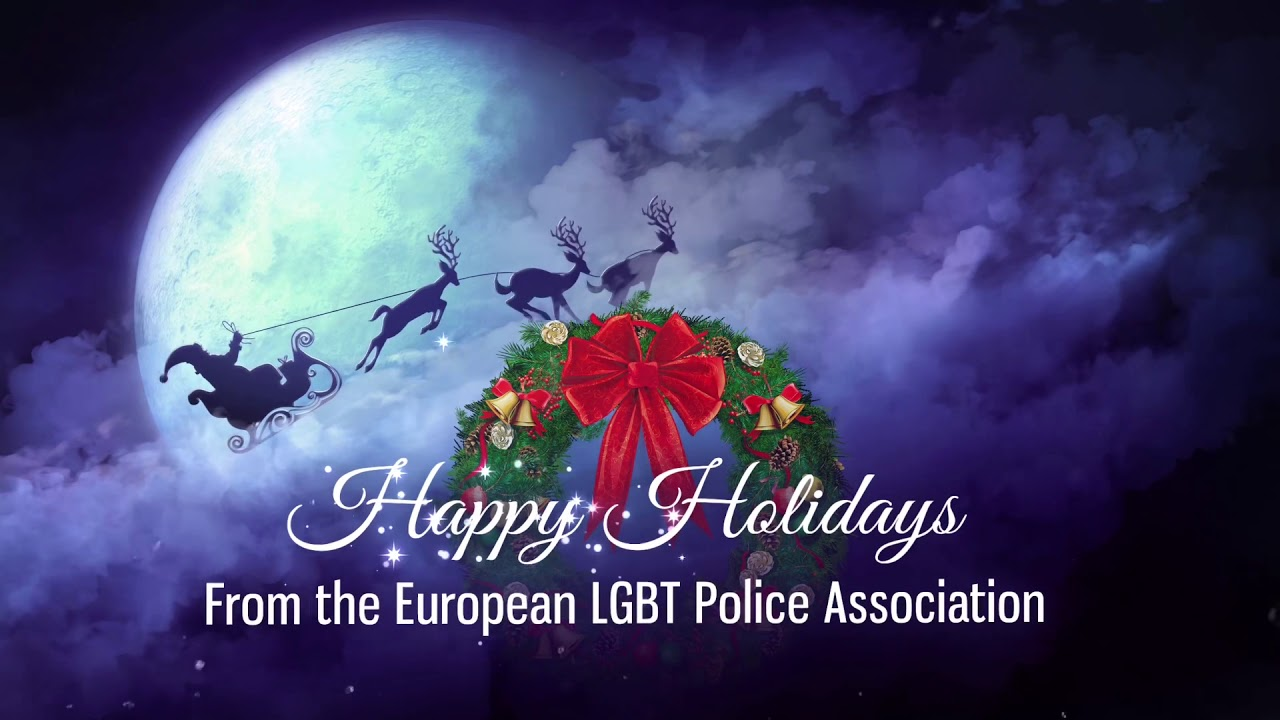 Happy Holidays video message