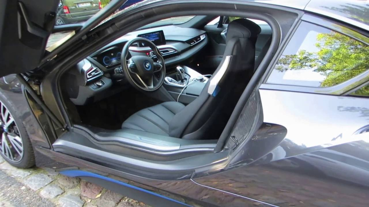 Bmw I8 How To Open Fuel Lid Youtube