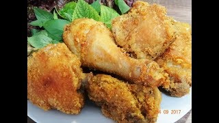 Gà KFC - Bí quyết để làm được món đùi Gà chiên giòn rụm như KFC by Vanh Khuyen