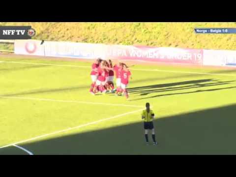 WU19 Euro 2014 // Norway - Belgium 2-1 // Highlights