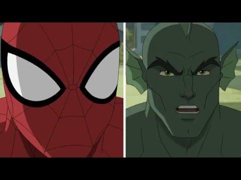 Человек паук мультфильм все серии на русском
