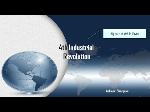 What is 4th Industrial Revolution? for UPSC/IAS Mains