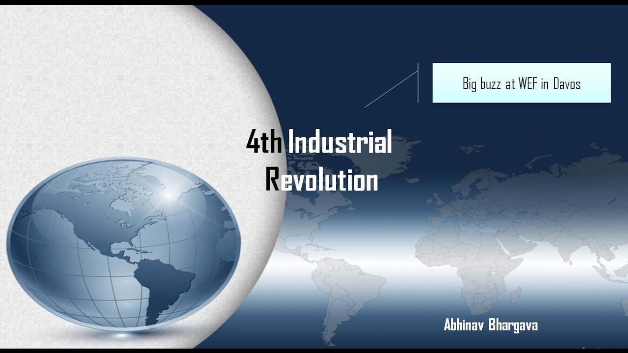 what is 4th industrial revolution? for upsc/ias mains - youtube, Modern powerpoint