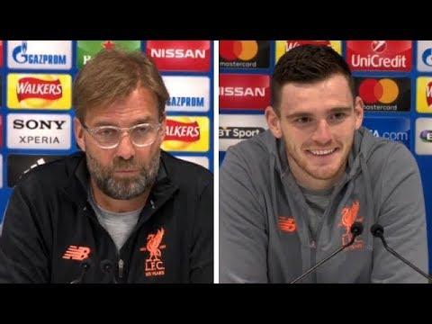 Jurgen Klopp & Andy Robertson Pre Match Press Conference | Liverpool v Man City | Champions League