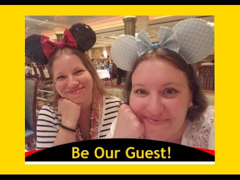 1st Night Dinner! Lumiere's on the DISNEY MAGIC Cruise Ship! [VLOG ep6]