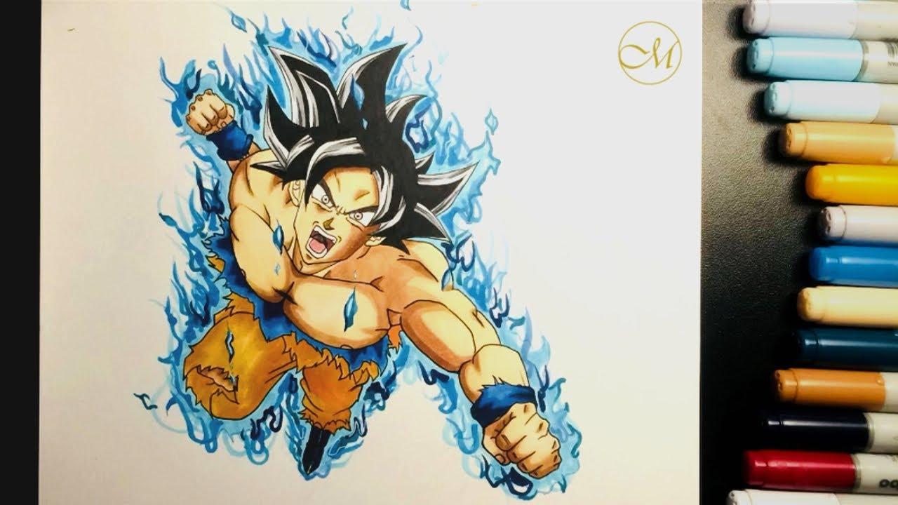 Dessiner Goku Ultra Instinct Drawing Goku Ultra Instinct