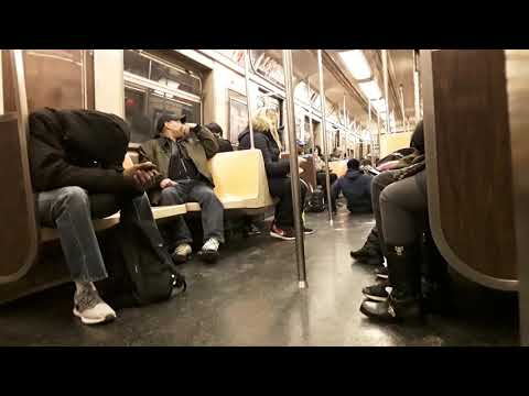 "New York City up-close - panhandlers creating a disturbance on ""A"" train, 11/14/18"