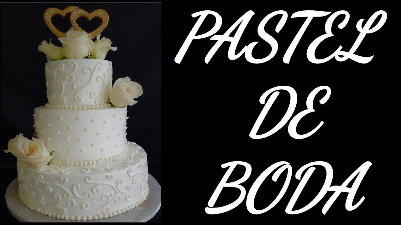 Decoracion Pastel De Boda De Tres Pisos