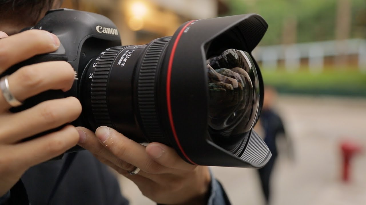 Canon 11-24mm f/4L USM Hands-on Review - YouTube