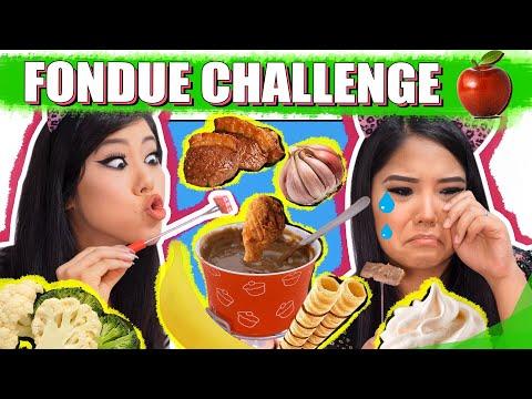 FONDUE CHALLENGE (DESAFIO DO CHOCOLATE) | Blog Das Irmãs