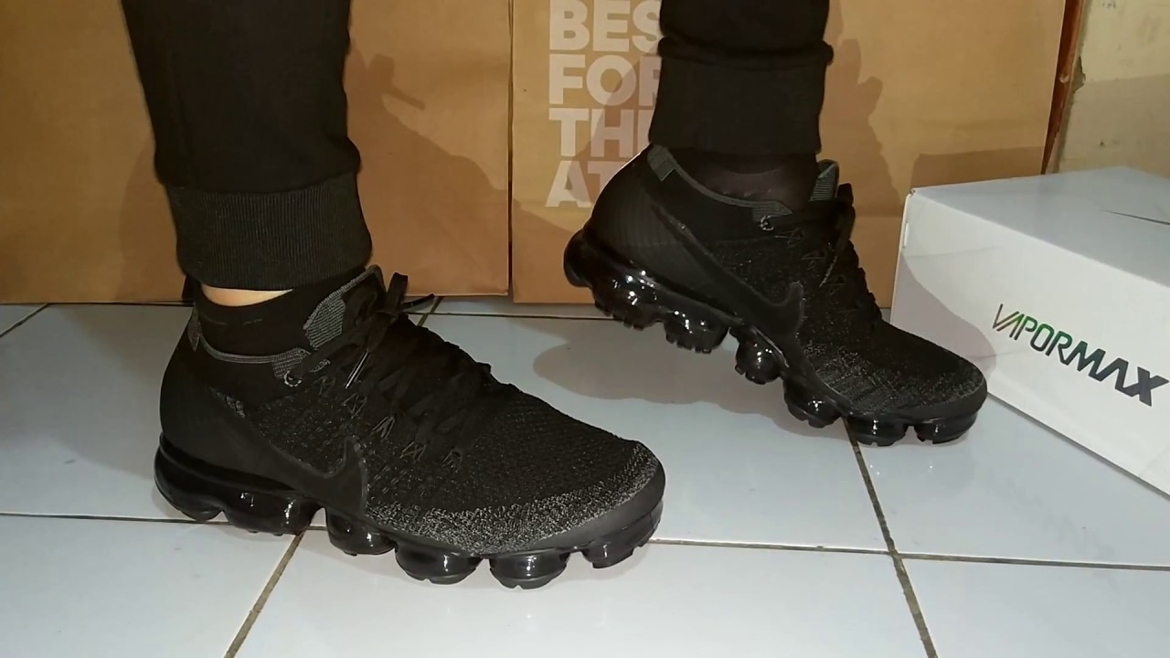 Nike Air Vapormax On Foot