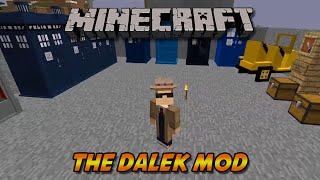 Minecraft Mod Spotlight   The Dalek Mod [1.7.10]