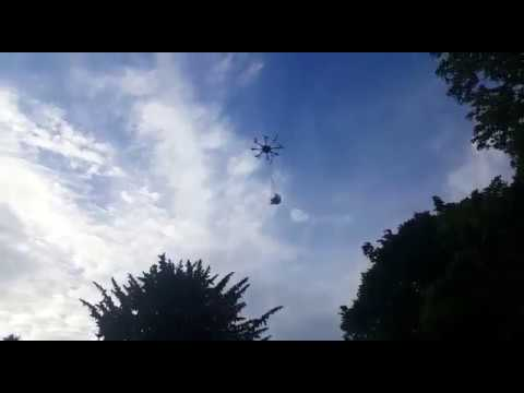 Heavy lift octocopter - EESA