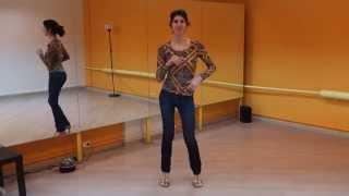 Женский стиль в бачате. Урок №4  - КИК - основа механики танца