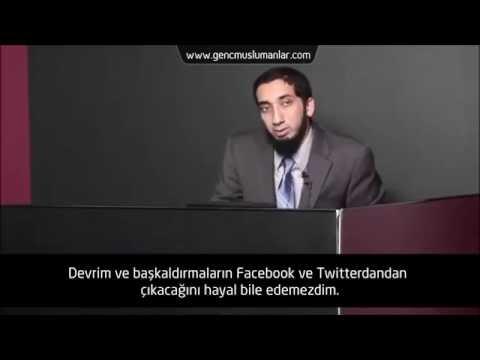 Neden Resimlerinizi Facebook'a Koyuyorsunuz? - Nouman Ali Khan