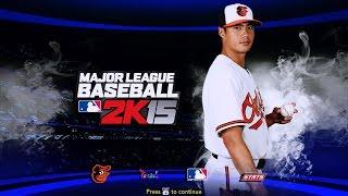 MLB 2K15 MOD 雙城 Tommy Milone VS 金鶯  陳偉殷(模擬)