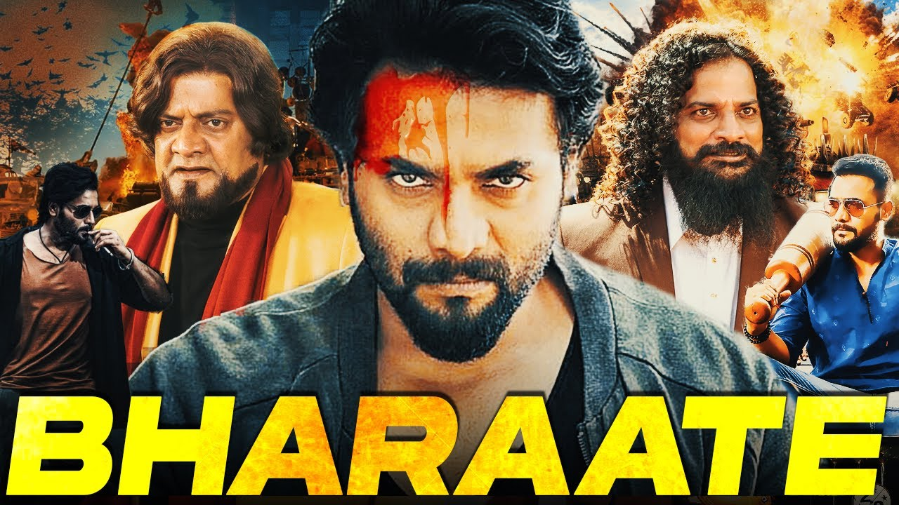 Bharaate Full Hindi Dubbed South Indian Action  Movie | Srii Murali, Sree Leela