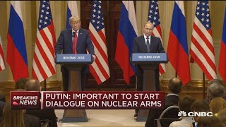 Putin: US and Russia could start by restoring peace in Syria