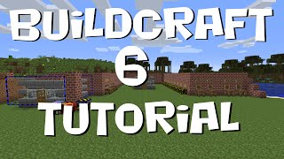BuildCraft 6 Tutorial #2 - Building (Builders, Fillers and Related Items) (MC 1.7.10)