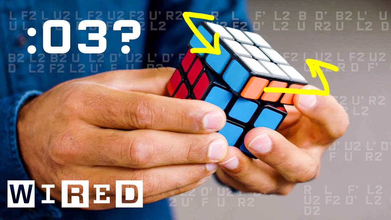 Why It's Almost Impossible to Solve a Rubik's Cube in Under 3 Seconds