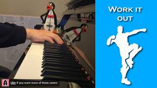 FORTNITE DANCE - Work It Out (Piano Cover)