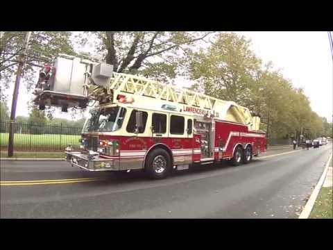 Lawrenceville Fire Company 100th Anniversary Parade