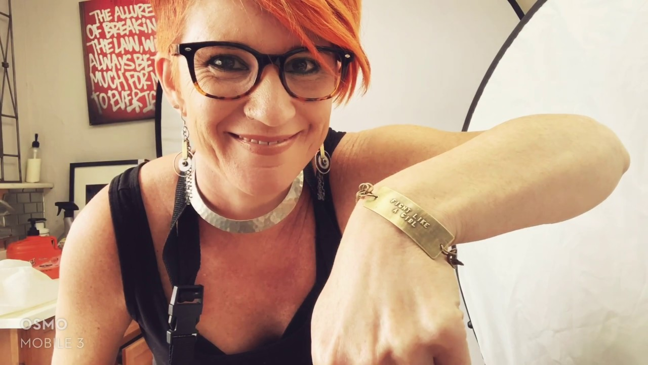 Learn Metalsmith: How To Stamp A Metal Bracelet