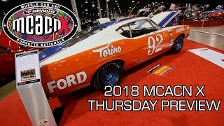 2018 Muscle Car And Corvette Nationals Week Preview! V8TV MCACN Thursday