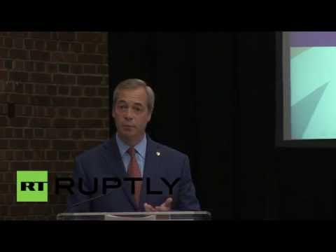 UK: 'I want my life back' - Farage resigns as UKIP leader