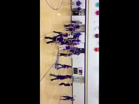 Holdrege Middle School flash mob