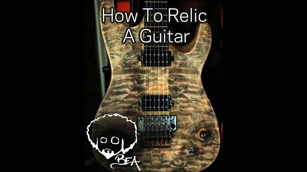 How to Relic a Guitar images