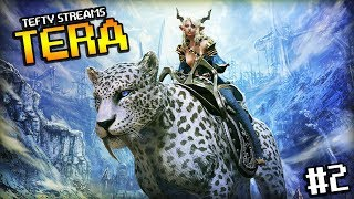 Tefty Streams TERA on PS4 - #sponsored - Episode 2