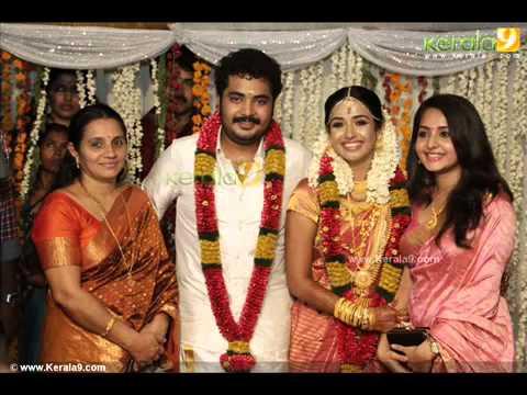 Malayalam Actor Vinu Mohan And Vidya Wedding