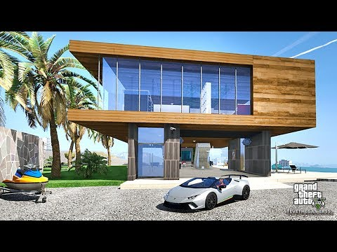 GTA 5 REAL LIFE MOD #389 007 NEW CRIB FOR SALE !!! (GTA 5 REAL LIFE MODS)