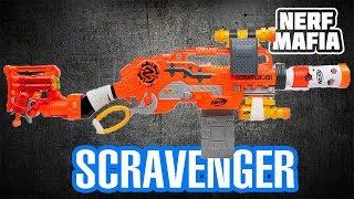Нёрф Выживший Обзор Бластера || Nerf Scravenger Blaster Overview Survival
