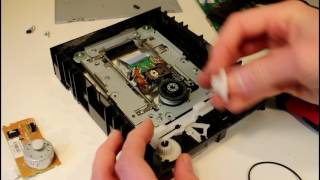 Salvaging useful parts - Old DVD RW disk drive