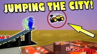 BOB and BOB do an EPIC STUNT SHOW! - Brick Rigs Multiplayer Gameplay Ep26
